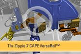 The Zippie® X'CAPE™ VersaRail™