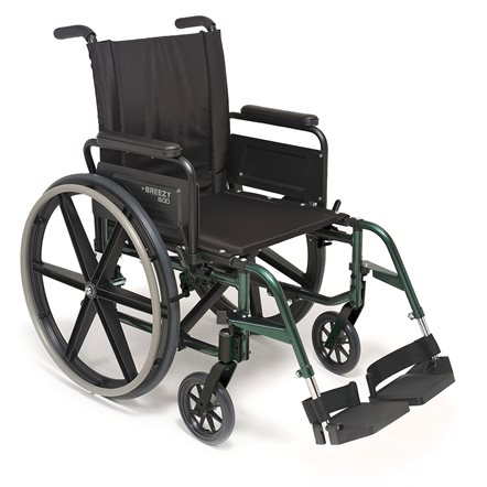 BREEZY 600 Lightweight Standard Wheelchair