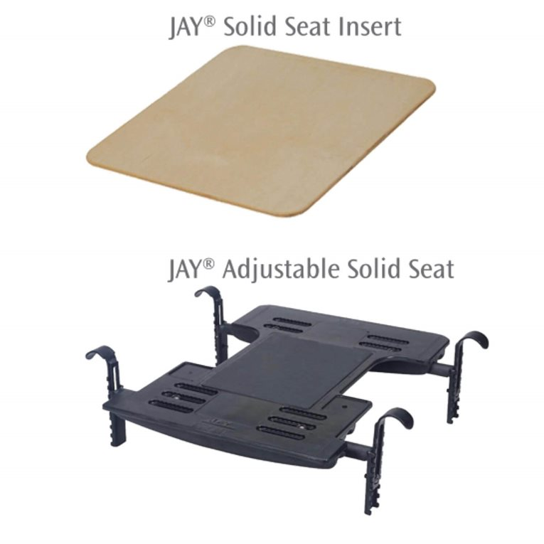 Wheelchair Cushions and Backs by JAYJAY Adjustable Solid Wheelchair Seat Option