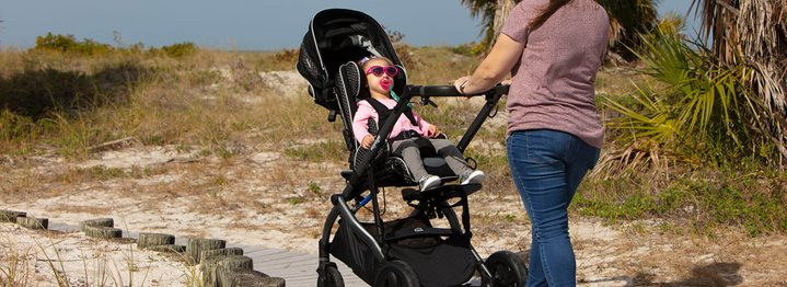 Exploring Early Intervention Adaptive Strollers, Part 1
