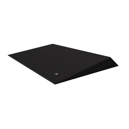 Rubber Angled Entry Mat by EZ Access